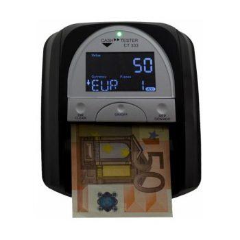 Detectores/contadores de billetes y monedas